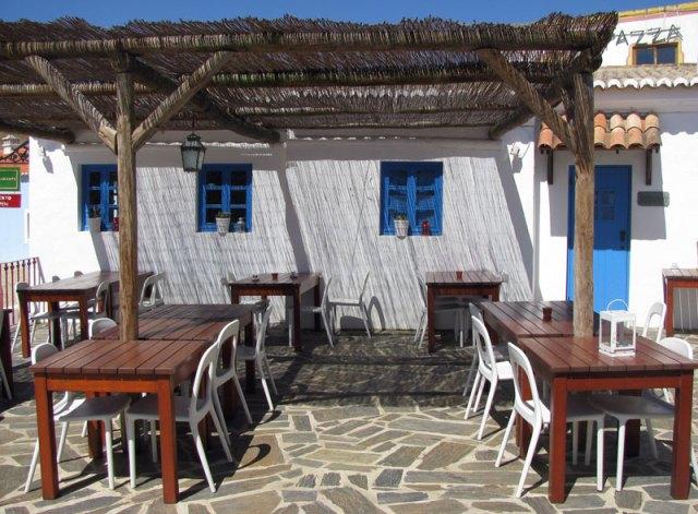 Eating out at Pedralva