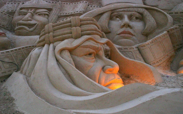 Sand Sculptures Algarve