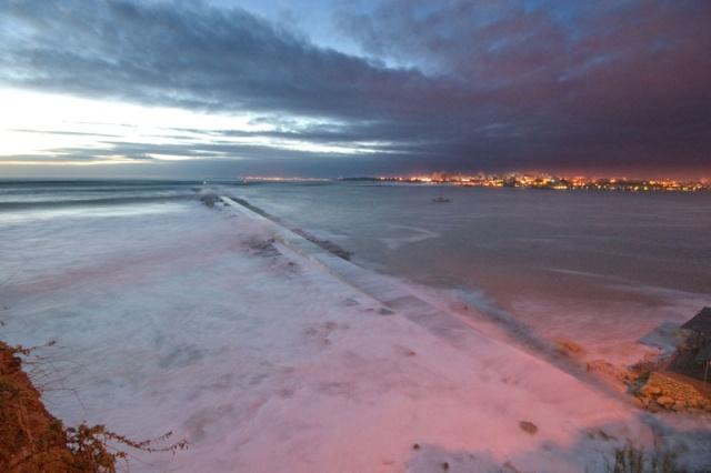 Praia de Molhe Storm Surge