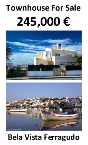 house for sale, Ferragudo, Bela Vista, townhouse, property