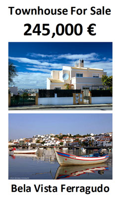 house for sale, Ferragudo, Bela Vista, townhouse, property