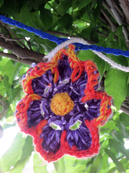Yarn Bombing in Portimão, Algarve Blog