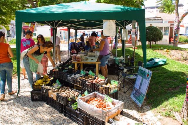 Organic produce market Portimão Algarve Blog