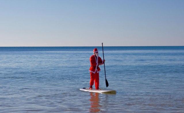 Santa Swim Christmas 2014