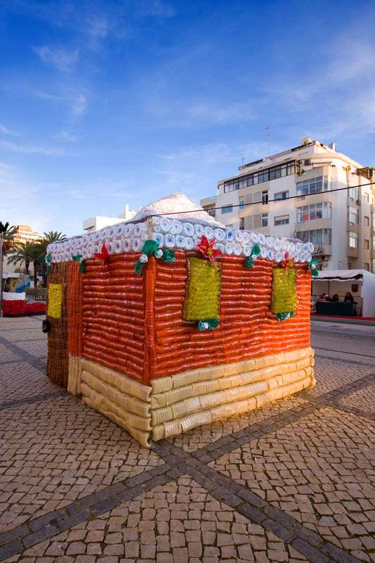 Portimao Christmas recycled 2014