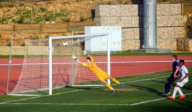 England U'17s Vs Holland Algarve February 2015