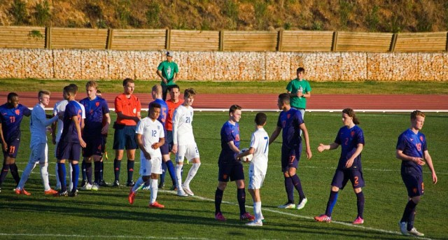 England U'17s Vs Holland Algarve February 2015
