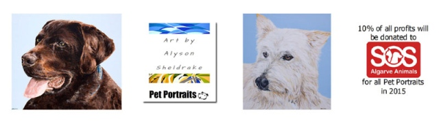 Art by Alyson Sheldrake Pet Portraits