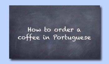Tradutex you tube video order a coffee in Portuguese