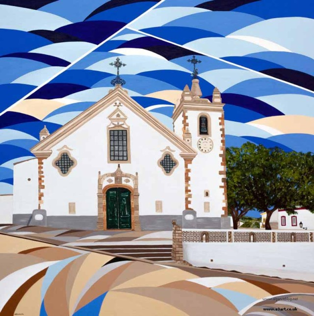 Unspoilt village of Alte Algarve Blog Art by Alyson Sheldrake