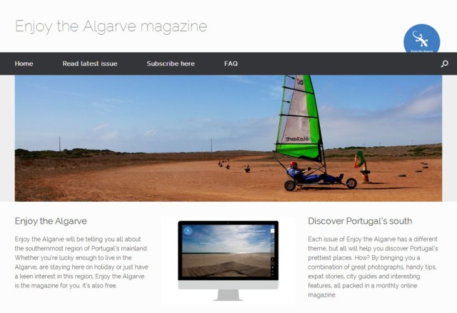 Enjoy the Algarve magazine
