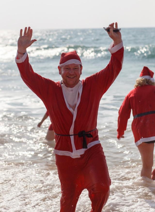 Santa Swim Armação de Pêra Algarve Blog