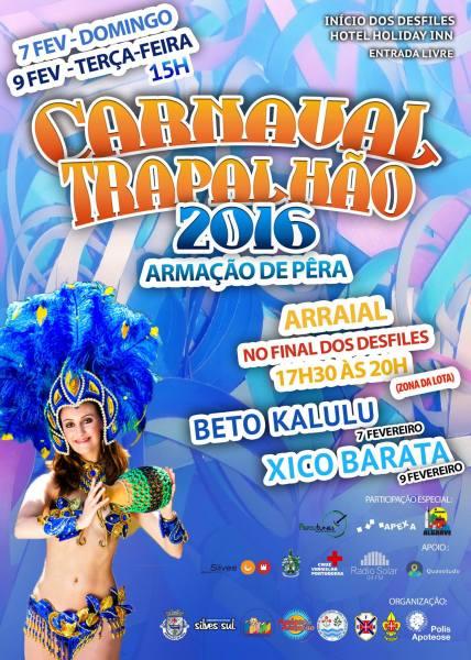 Carnival 2016 Armacao de Pera