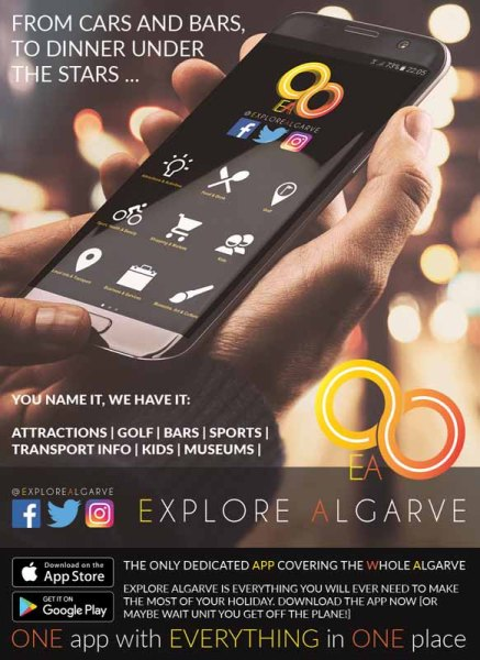 Explore Algarve app Algarve Blog