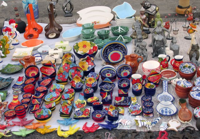 Flea Market Ferragudo Village Algarve Blog