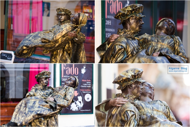 Living Statues in Lagoa 2016 Algarve Blog
