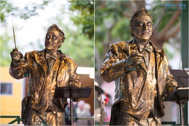 Living Statues in Lagoa 2016 Algarve Blog