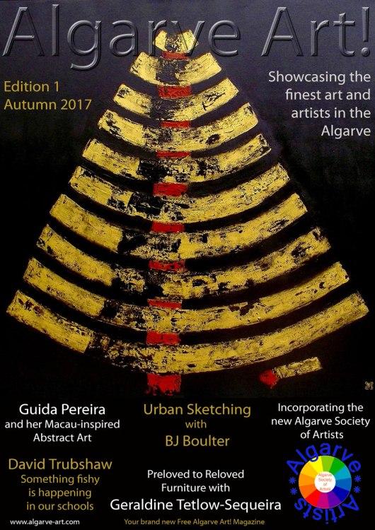 Algarve Art! Magazine Front Cover Edition 1
