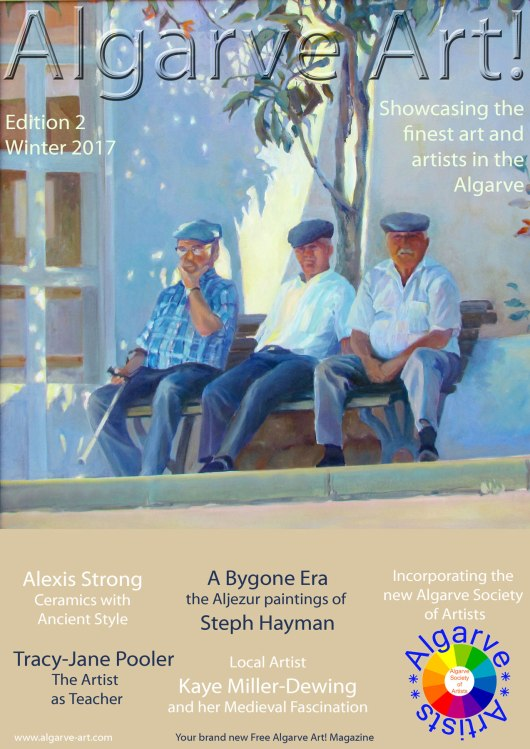 Algarve Art! Magazine Front Cover Edition 2